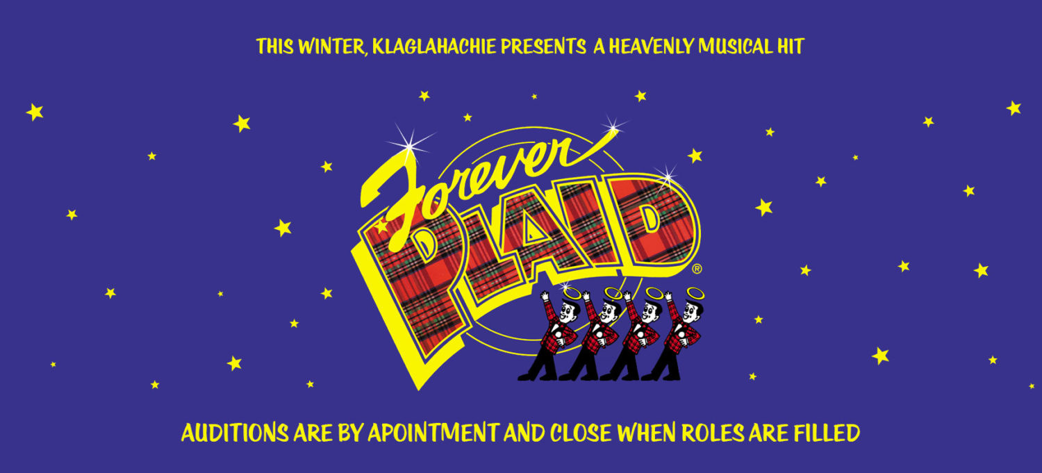 Auditions for Forever Plaid are on now!